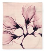 Whisper Magnolia Fleece Blanket