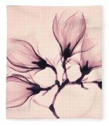 Whisper Magnolia Fleece Blanket