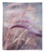 Whispers In The Wind Fleece Blanket