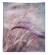Whispers In The Wind Fleece Blanket