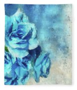 Whispers Of Blue Fleece Blanket