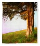 Whispers Of The Wind Fleece Blanket
