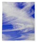 Whispy Clouds Fleece Blanket