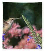 Whistle While You Work  Fleece Blanket