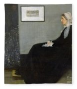 Whistlers Mother Fleece Blanket