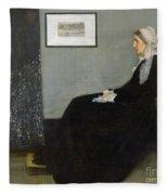 Whistlers Mother Fleece Blanket