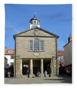 Whitby Old Town Hall Fleece Blanket