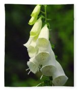 White Bells Fleece Blanket