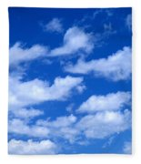 White Clouds Fleece Blanket