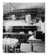 White House Kitchen, 1901 Fleece Blanket