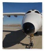 White Knight 2 Edwards Air Force Base Fleece Blanket