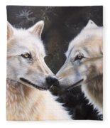 White Magic Fleece Blanket