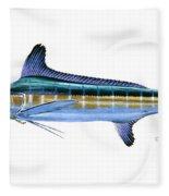 White Marlin Fleece Blanket