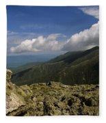 White Mountain National Forest - New Hampshire Usa Fleece Blanket