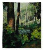 White Mountain Woods Fleece Blanket