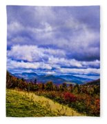 White Mountains Fleece Blanket