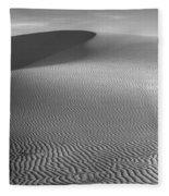 White Sands Sunset Dune Fleece Blanket