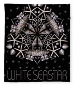 White Seastar Fleece Blanket
