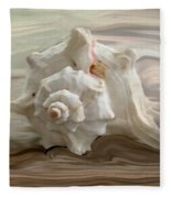 White Shell Fleece Blanket