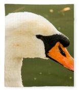 White Swan Profile Fleece Blanket