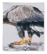 White Tailed Sea Eagle Fleece Blanket