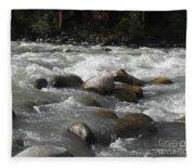 White Waters Fleece Blanket