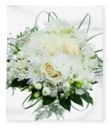 Wedding Bouquet  Fleece Blanket