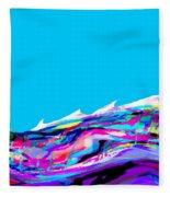 Whitecaps Fleece Blanket