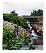 Whitefish Falls Fleece Blanket