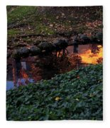 Whiteman College Reflection Fleece Blanket