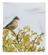 Whitethroat  Fleece Blanket