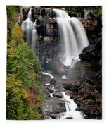 Whitewater Falls - Nc Fleece Blanket