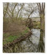 Whitewater River Spring 41 A Fleece Blanket
