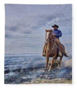 Sudden Stop Fleece Blanket