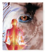 Whose I Is Eckharts Eye Fleece Blanket