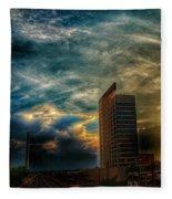 Wicked Sky  Fleece Blanket