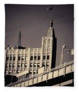 Wicker Park Northwest Tower Fleece Blanket