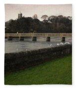 Wicklow Footbridge Fleece Blanket