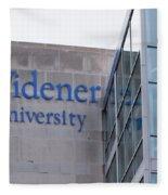 Widener University - Metropoliton Hall Fleece Blanket