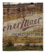 Wiener Maerzen Beer Sign Victor Co Img_8703 Fleece Blanket