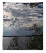 View Across Wappapello Lake Fleece Blanket