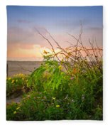 Wild At Sunrise Fleece Blanket