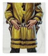 Wild Bill Hickok Fleece Blanket