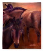 Wild Breed Fleece Blanket