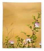 wild caper plant Capparis spinosa Fleece Blanket