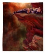 Wild Dreamer Fleece Blanket