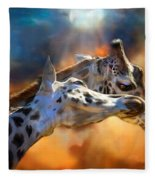 Wild Dreamers Fleece Blanket