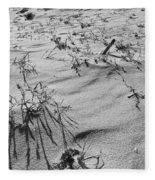 Wild Flora And Dunes Fleece Blanket