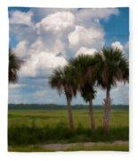 Wild Florida Fleece Blanket