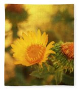 Wild Flower Fleece Blanket